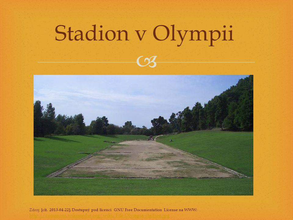 Stadion v Olympii Zdroj: [cit. 2013-04-22]. Dostupný pod licencí GNU Free Documentation License na WWW: